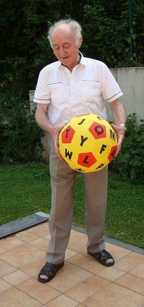 Ball HANDS ON Lernspielball Alphabet Lernen Bewegen Spielen Pädagogik