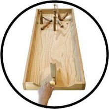 Tischbowling, kurze Version