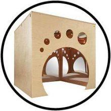Spiegelwürfel playcube Spielhöhle