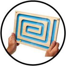 Labyrinth Geduldspiel - Spiral Maze