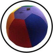 Luftmatz - Ball Jeans - bunt - 33 cm