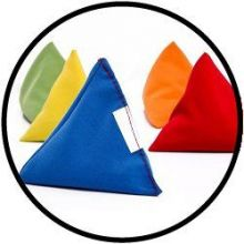 Gymnastiksäckchen Pyramide 10 Stück