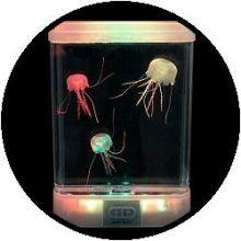 Aquarium - mit 'glow in the dark' Qualle