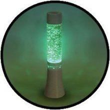 Licht Dekoration - Glitzerlampe 33 cm, Farbe wechselnd