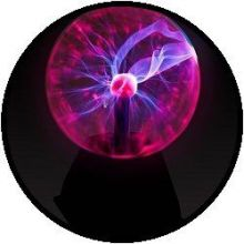 Magic Plasma Ball Licht - batteriebetrieben