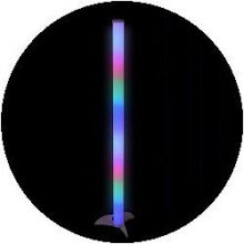LED Colour Changing Rocket Light Tube 100cm
