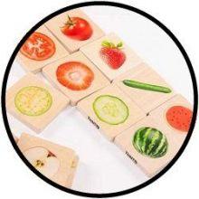 Streichset für Obst und Gemüse