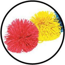 Pompom balls 10 cm 2er Set