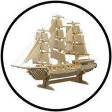 Holzbausatz Segelboot