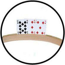 Hölzerner Spielkartenhalter