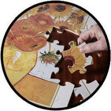 Van Gogh Sonnenblumen Puzzle - 48 große Teile
