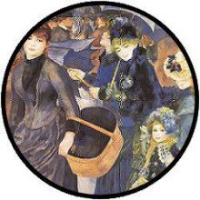 Renoir The Umbrellas Puzzle - 48 große Teile
