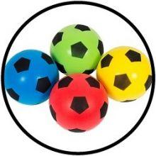 Schaumstoff-Fußball