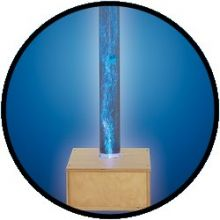 Wassersäule mit Holzsockel 130 cm