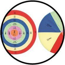 Hula-Zielscheiben (2 Stück)