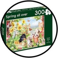 Puzzle - Spring all over (300 XL)