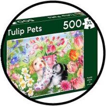 Puzzle - Tulip Pets (500 XL)