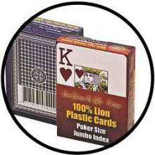 Poker Jumbo Index plastic