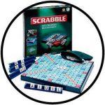 Scrabble mit großen Buchstaben