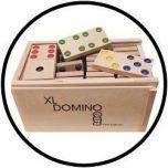 Domino groß mit Kassette