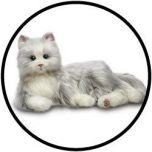 Joy For All Grau Tabby Cat