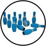 Soft-Kegeln blau