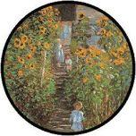 Monet Le Jardin a Vetheuil Puzzle - 48 große Teile