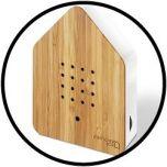 Zwitscherbox Bambus