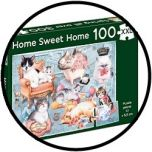 Puzzle - Home Sweet Home (100 XXL)